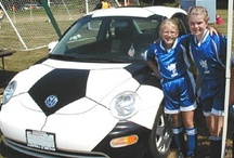 Soccer Ball Car! / Some great shots of our original company car: the celebrated Soccer Ball Car!