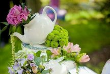 afternoon tea / a lovely assortment of tea related things