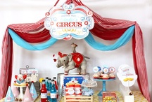 Circus/Carnival Party / Ideas for my daughters 3rd birthday! / by Lydia Sestito
