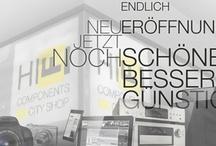 Artwork / Design & Artwork for HIFI COMPONENTS City Shop by schönereWelt! München / by HIFI COMPONENTS