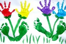 Education: Hand and foot prints / by Gemma