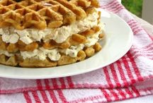 Break Fast, Eat Slow / Breakfast recipes, waffles, pancakes, eggs, brunch, muffins, French toast!