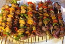 Stay Chill and Grill BBQ / BBQ recipes, grilling recipes, marinades, BBQ sides, kebabs, grilled veggies, summer sides, summer salads
