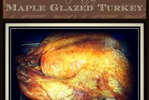 Thankful for Thanksgiving / Thanksgiving recipes, best turkey recipe, maple glazed turkey, homemade cranberry sauce, creamy mashed potatoes, thanksgiving sides, easy thanksgiving dinner, homemade turkey stuffing, meat stuffing, cranberry apple sausage stuffing, carrots and turnip.