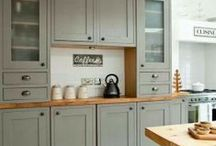 Modern Country Kitchen Ideas / by Melissa Endthoff Mondragon