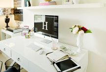 Studio & Office / Photography studio and at home office / by Tara-Jade Dunn