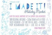 I Made It! for the Holidays 2015 / Friday, November 27th 12 - 8 pm (Black Friday)  Saturday, November 28th 11 am - 6 pm (Small Business Saturday)  Nova Place (former Allegheny Center Mall, Northside) 100 S Commons, Pittsburgh, PA 15212 Parking underneath the building