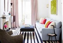 Eclectic Decor Ideas / a lil' modern + a lil' rustic + a lil' chi + a lil' colorful = a really unique space.