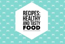 Recipes: healthy + tasty food / This board has healthy and tasty recipes.