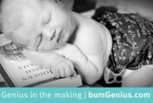 bumGenius / Award-winning bumGenius™ cloth diapers are designed to make cloth diapering easy for every-day people. We believe that cloth diapering should be as inexpensive and as easy to use as disposables.  The bumGenius brand offers a variety of options; stay dry lining, organic cotton, single-piece diapering - all in fun colors and prints from our Limited Edition Genius Series.