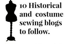 Costume Projects/Vintage Patterns / Pins from research on plays and vintage sewing projects