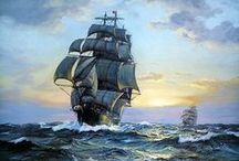 """tall ships"" / by Cilla Lilly"