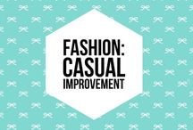 Fashion: Casual improvement: the most fashionable trends in casual wear! / When you want to look beautiful and fashionable without over-doing, i call that casual improvement. i pin things on this board that can add a little umpf to things we already have in our closets.