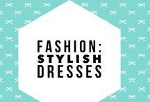 Fashion: Stylish dresses. / i love dresses. especially dresses with pockets.