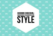 Home Decor: Modern living, farm house chic, and current design trends are pinned here. Ideal board to created the modern home! #df: elements of home decor DF style / Home decor for apartment living. I live in an apartment, but that doesn't mean that I have to have dorm decor, right? Pinning my favorite things in scalable home decor on this board.