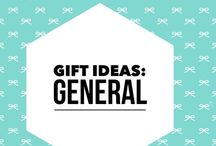 Gifts: Ideas for Gift Giving / My love language is gift giving: here i've assembled gifts i'm considering giving.