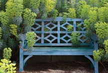 Garden seating / Formal and informal seating options for the garden