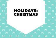 Holidays: Christmas / Fun ideas for a beautiful and memorable Christmas.
