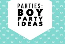 Parties: Boy Birthday Party Ideas / Ideas for having a great birthday party for a little boy