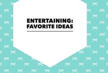 Entertaining: Favorite Holiday Ideas / Celebrating Christmas In Style!