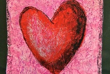Art Ideas - Valentine's Day / One of my favorite holidays!   / by Alicia Buck