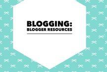 Blogging / blogging ideas and resources
