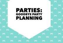 Parties: Bon Voyage and Goodbye Party