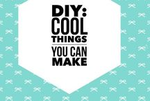 DIY: Cool Projects / Items I'd like to be handmade