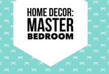 Home Decor: Master bedroom / Bedroom ideas