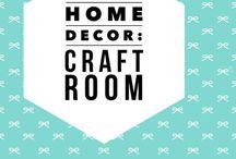 Home Decor: craft room ideas / Craft room ideas