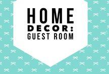 Home Decor: guest bedroom / Guest bedroom ideas