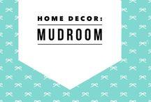 Home Decor: Mud Room / Mud room