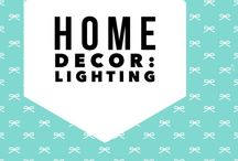 Home Decor: Lighting and lights that change your home decor / One of the most critical elements to home decor is lighting