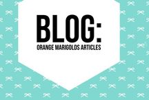 Orange Marigolds Blog / Orange Marigolds is a lifestyle blog for Women. Featuring articles on products, travel, restaurants as well as tips and ideas.