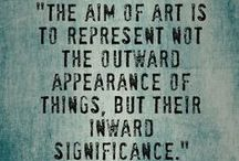 Art Quotes / by Ilene Tell