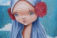 Lavish Studio Art by Ela Tell / My paintings, drawing, and all original art.