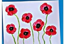 Remembrance Day activities for kids / Crafts for kids that centre around Remembrance Day