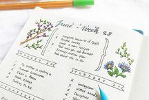 Bullet Journal / Bullet Journal Ideen für Anfänger und absolute Beginner werden hier gesammelt. Gemeinsam üben wir und erstellen unser eigenes Bullet Jornal. Nach und nach kommen weitere Tipps für das Journal dazu.
