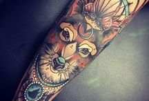 ♥ TATTOOS / Body art. Tattoos for men, women, beautiful designs, unique artwork, and a love for foxes, mermaids, and pretty girls.