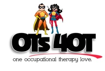 It's an occupational therapy thing.  / occupational therapy. resources. activities. technology. advocacy. live life to the fullest.  / by Marie Bell OTR
