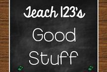 A+ GOOD STUFF for Teachers / Centers, games, lessons, blog posts with tips for K-3 teachers. / by Teach123