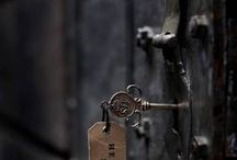 "Love a Good Door / ""She knocked and waited, because when the door was opened from within, it had the potential to lead someplace quite different."" ― Laini Taylor, Daughter of Smoke and Bone  / by Penney Fox 