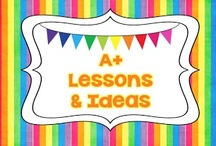 A+  LESSONS & IDEAS / Quality lessons and teaching tips for elementary students. Rules:  Pin in moderation so we have a mixture for a variety of people please.  Please pin more free lessons than paid lessons.  Put a $ or paid if it is a paid product.  Thanks!  I am sorry but I am not accepting new pinners at this time. / by Teach123