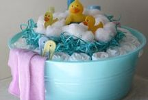 Baby shower ideas! / by Adrienne 'The Happy Soul' Hines