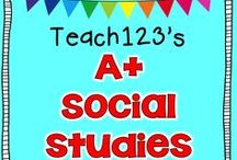 A+ SOCIAL STUDIES for teachers / Centers, lessons, and resources  for K-3 teachers. / by Teach123