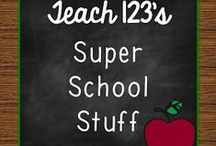 A+ SUPER SCHOOL STUFF for Teachers / Blog posts, articles, lessons, and tips to help teachers K-3. / by Teach123