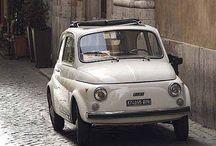 // 500 times // / Fiat 500, vintage cars