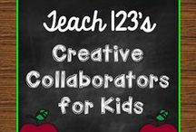 ❤️ Creative Collaborators for Kids ❤️ / Blog posts about teaching tips and lessons for elementary children. / by Teach123