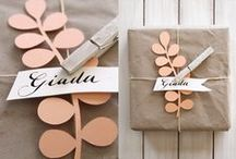 g i f t s / Thoughtful gift wrapping and DIY. Tips, tutorials, beautiful ideas.