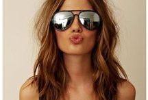 b e a u t y / Hair + Make Up Inspiration, Tips, Ideas. Beauty on the west coast. Long hair, ombre, brunette, eye makeup.